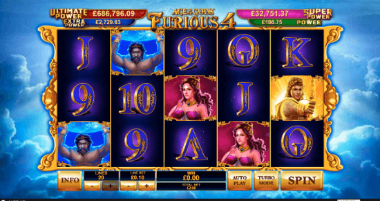 Slot Game Details Of Age Of The Gods Ares Vs Athena